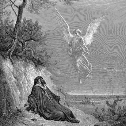 Elijah Nourished By Angel